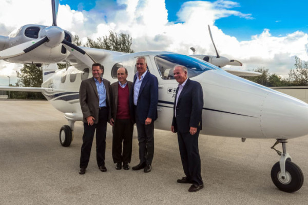 Cape Air first to fly Tecnam P2012 Traveller