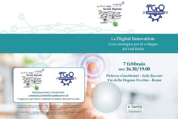 """""""La Digital Innovation quale leva strategica per lo sviluppo del Sud Italia"""""""