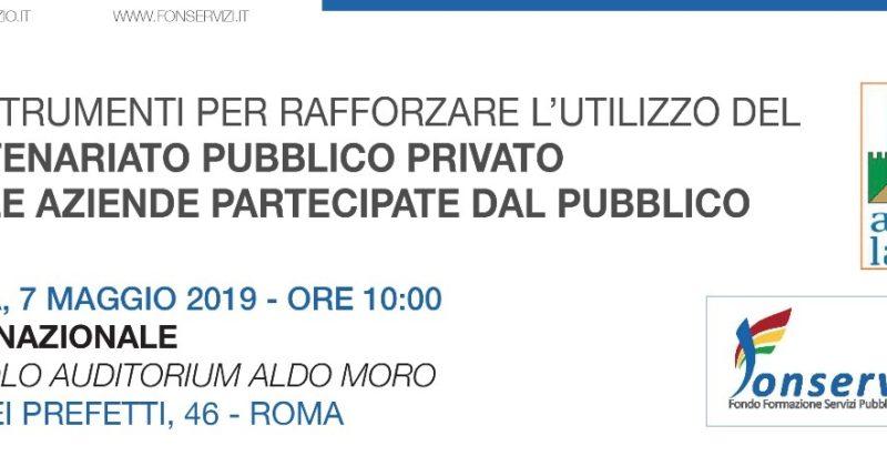 GLI STRUMENTI PER RAFFORZARE L'UTILIZZO DEL PARTENARIATO PUBBLICO PRIVATO NELLE AZIENDE PARTECIPATE DAL PUBBLICO