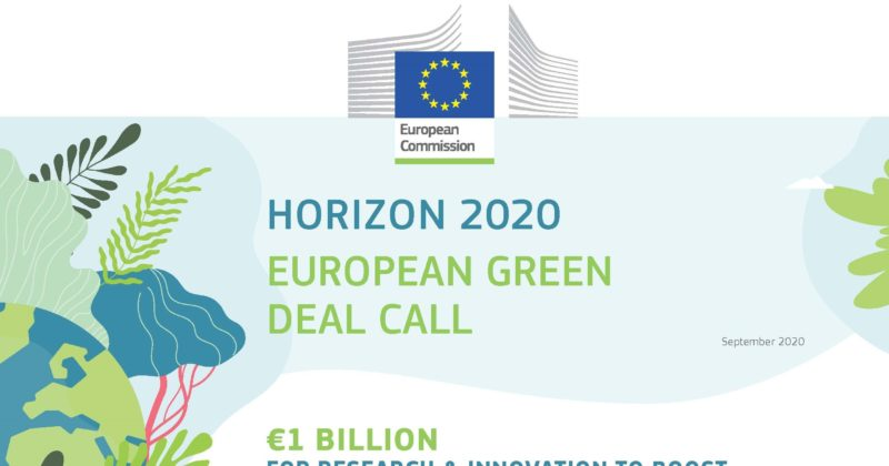 Horizon 2020 – European green deal call