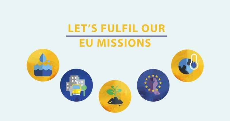 La Commissione europea vara le 'Missions' UE per affrontare le sfide chiave