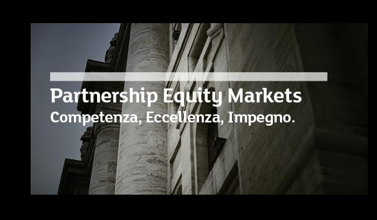 Iniziativa Finanza e Innovazione – Nuovo Partner Equity Markets