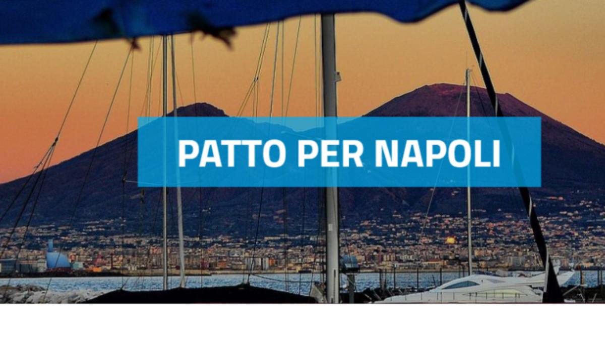 Iniziativa a supporto del Comune di Napoli per gli interventi del Patto per Napoli