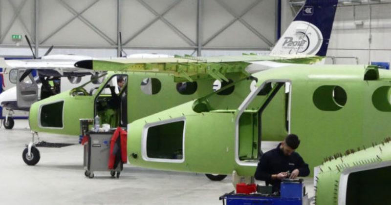 Il nuovo P2012 Traveller della Tecnam ottiene la certificazione EASA