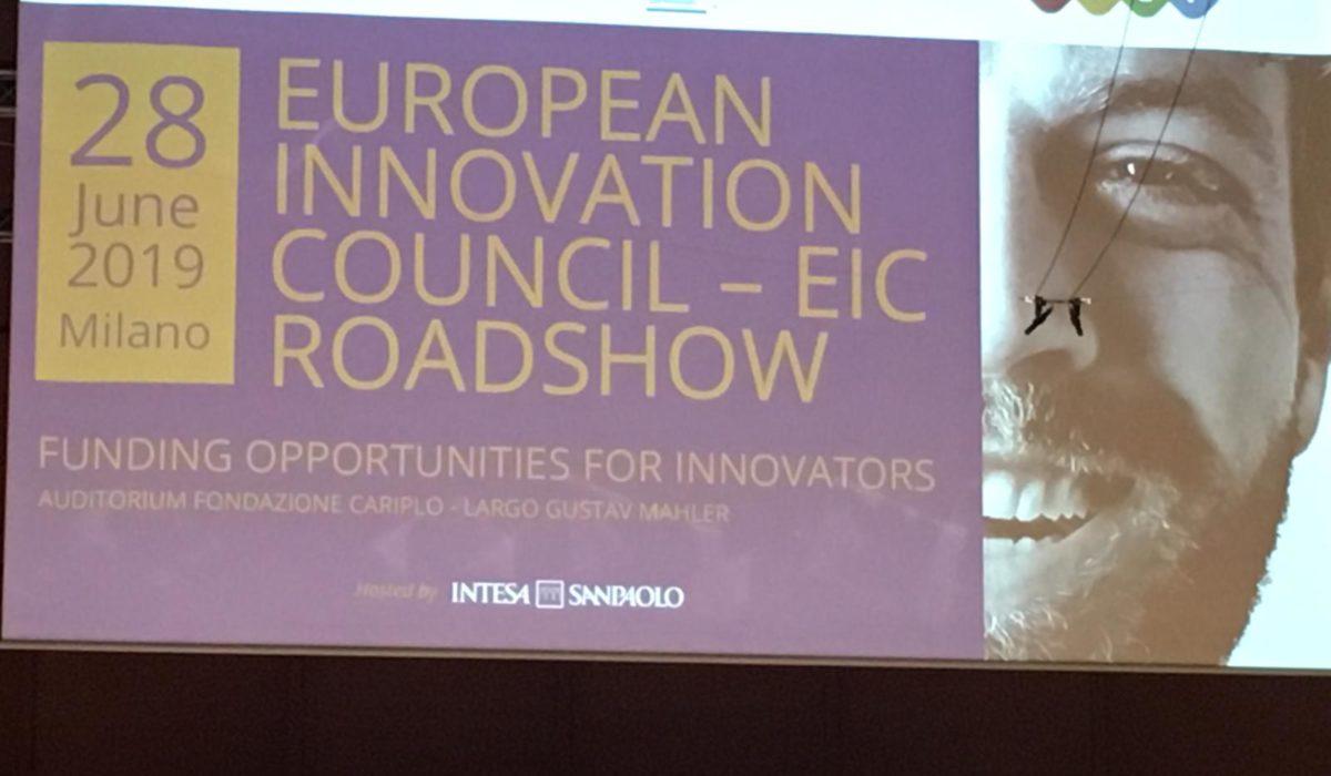 Iniziativa partecipa al Roadshow sul Consiglio europeo per l'Innovazione.