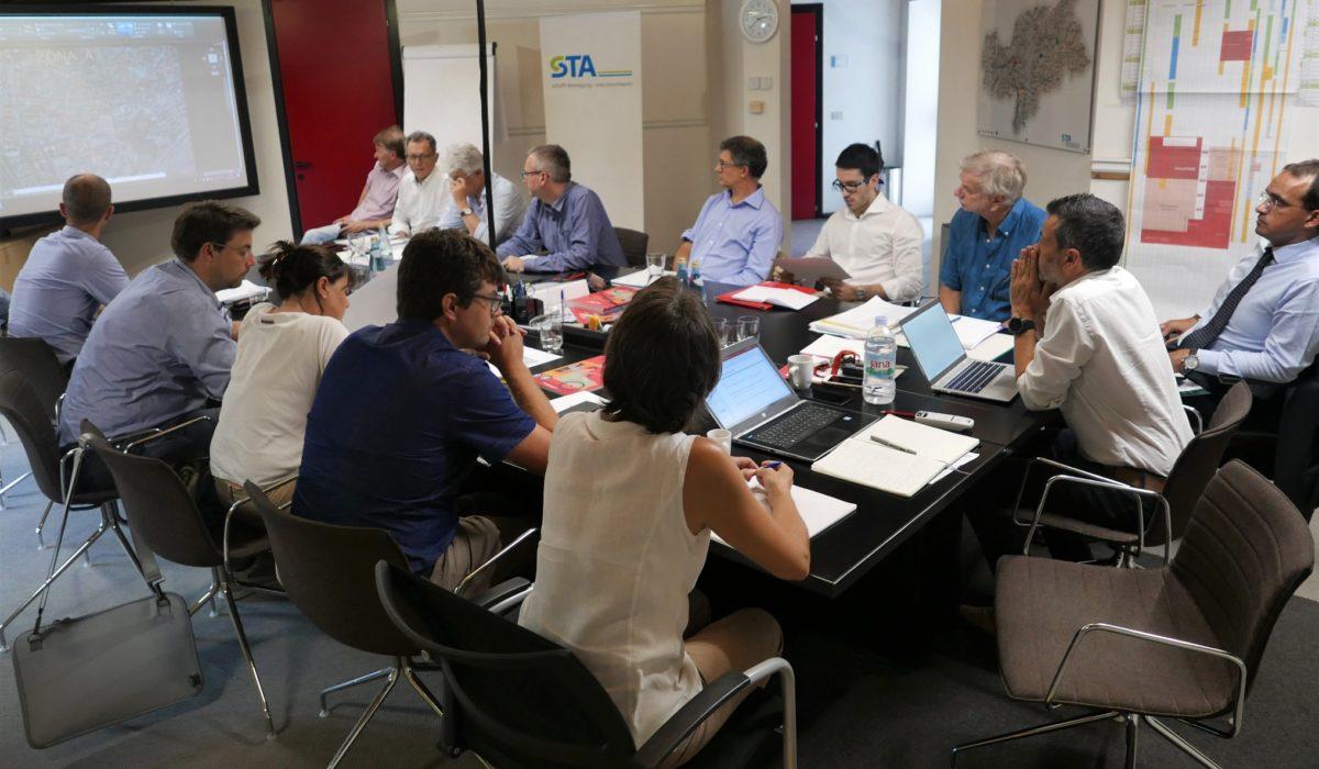 Iniziativa nel gruppo di lavoro per lo studio del Tram di Bolzano