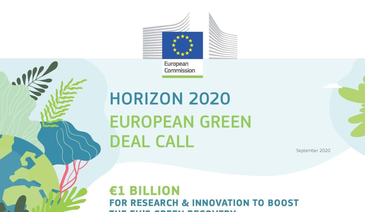 Horizon 2020 – European green deal call
