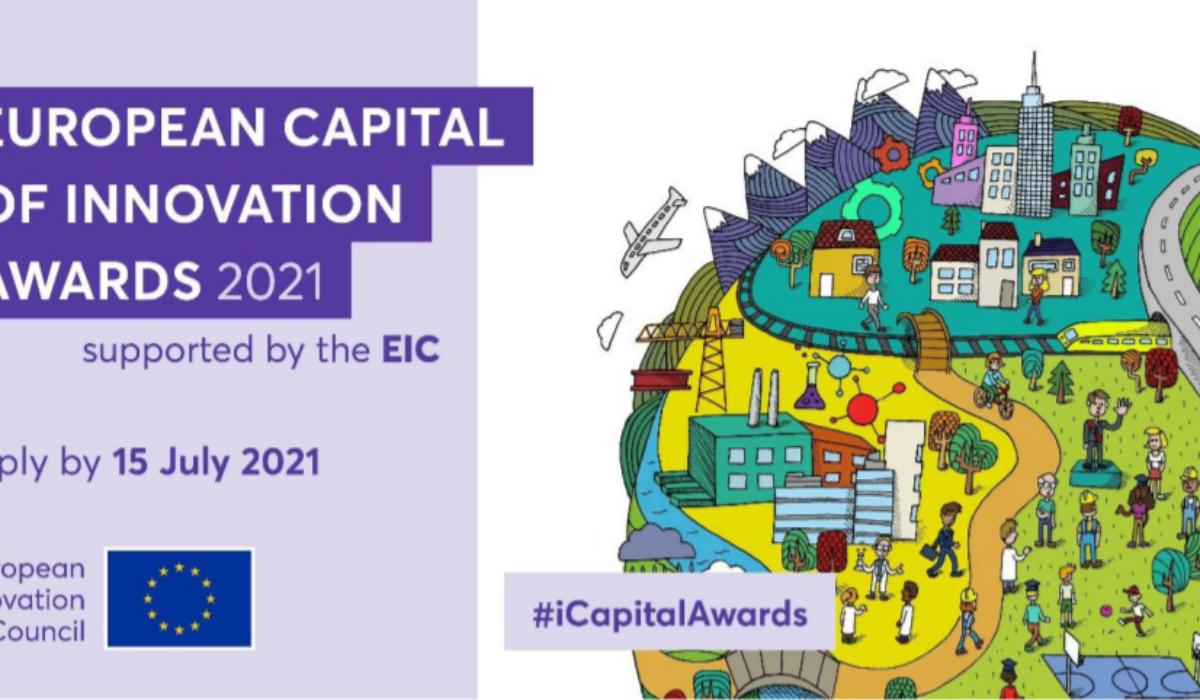 """Via alle candidature per il Premio """"Capitale Europea dell'Innovazione"""" 2021"""